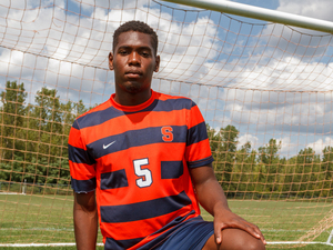 Kamal Miller has been the core of Syracuse's defense since he arrived two years ago and could become the team's next first rounder in the 2018 MLS SuperDraft